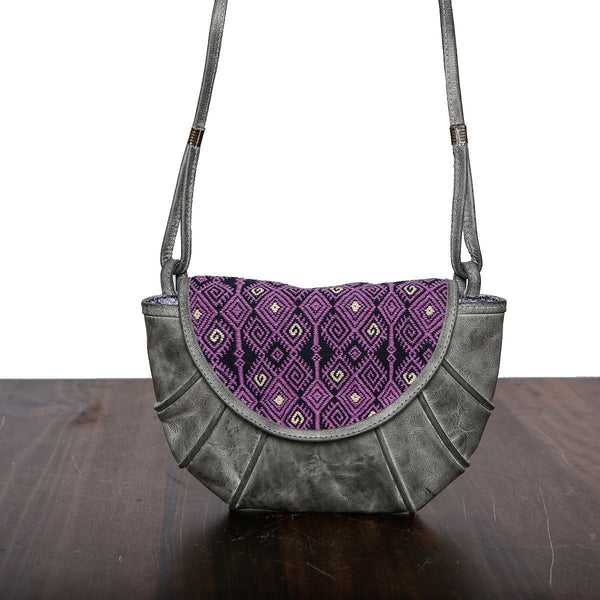 Genuine Leather Shoulder Bag - Made in Mexico