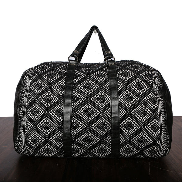 Textile Traveler Bag - Made in Mexico