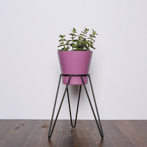 Colorful Wire plant stands - mini T2