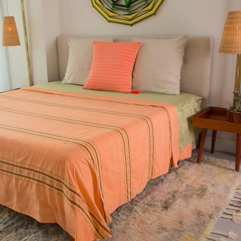Brena Bedcover Orange