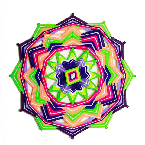 Mandala Charm - Neon Lights