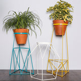Colorful wire plant stands - PT1