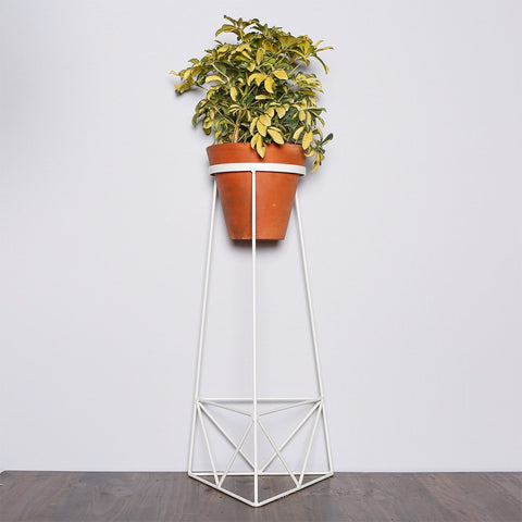 Plant Stands - Colorful tall planters for indoor garden