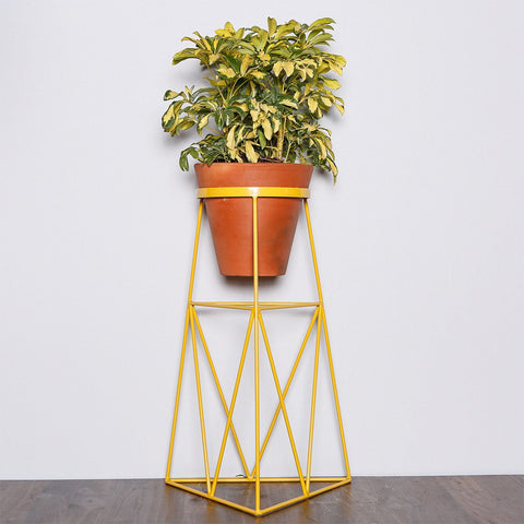 colorful wire plant stands pt2