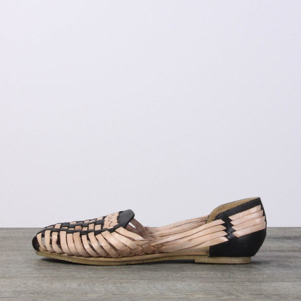 Leather Sandals - Mexico Black