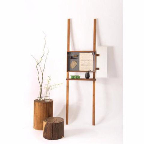 Contemporary Display Unit - Walnut Wood