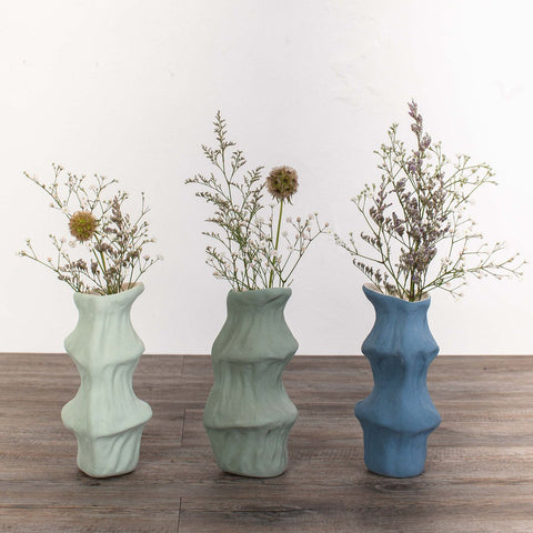 Organic Shaped Flower Vase -Small