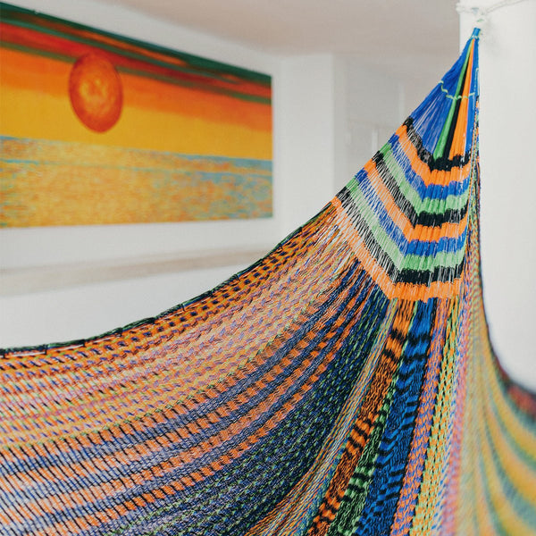 Colorful Mexican Hammocks - Tulum