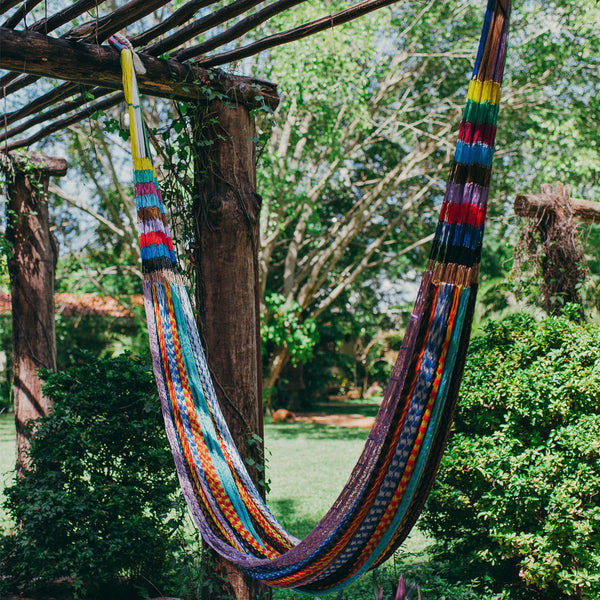 Colorful Mexican Hammocks - Uxmal