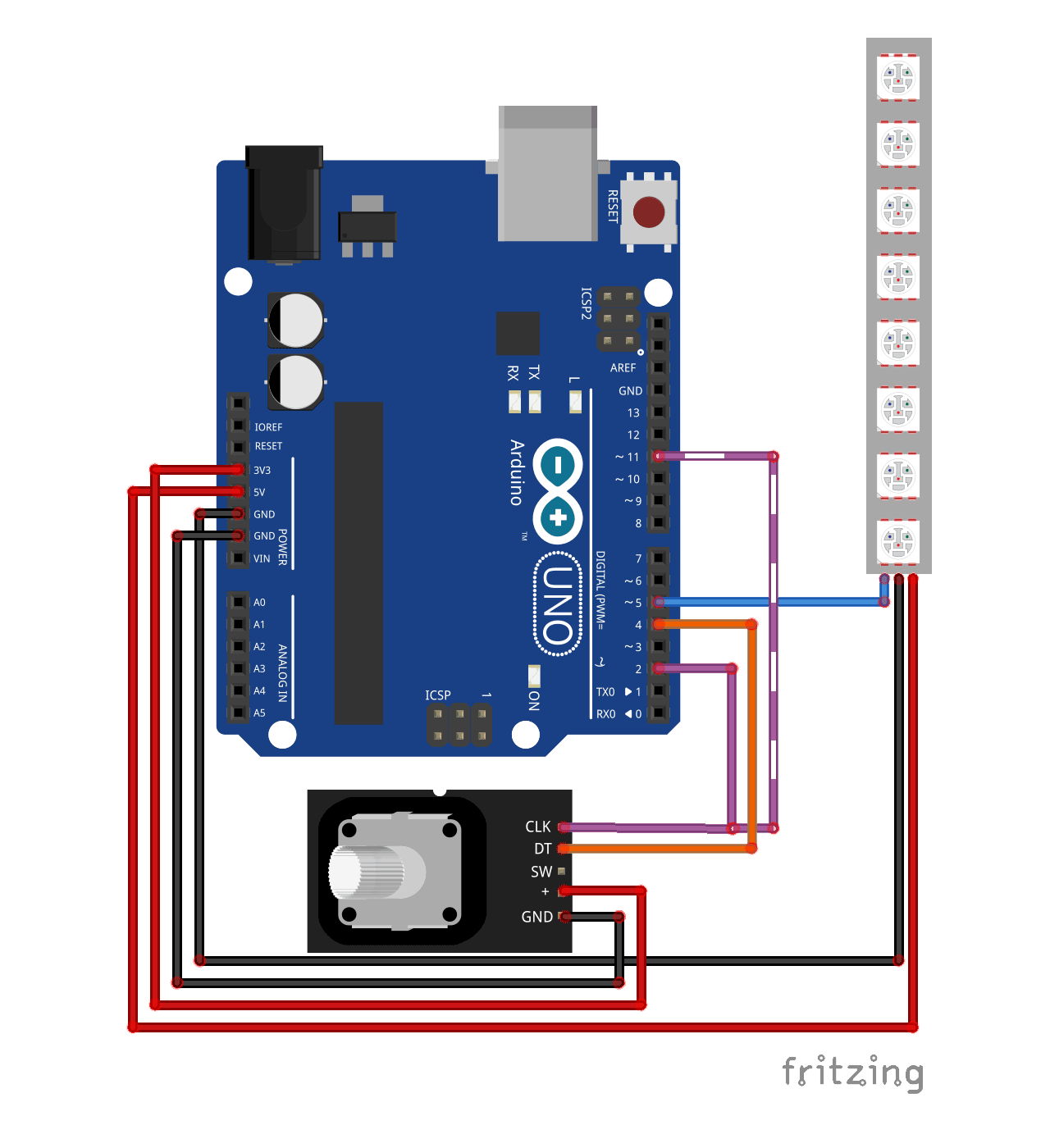 Unlimited interrupts on Arduino