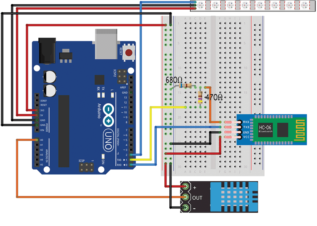 Arduino HC-06 Bluetooth