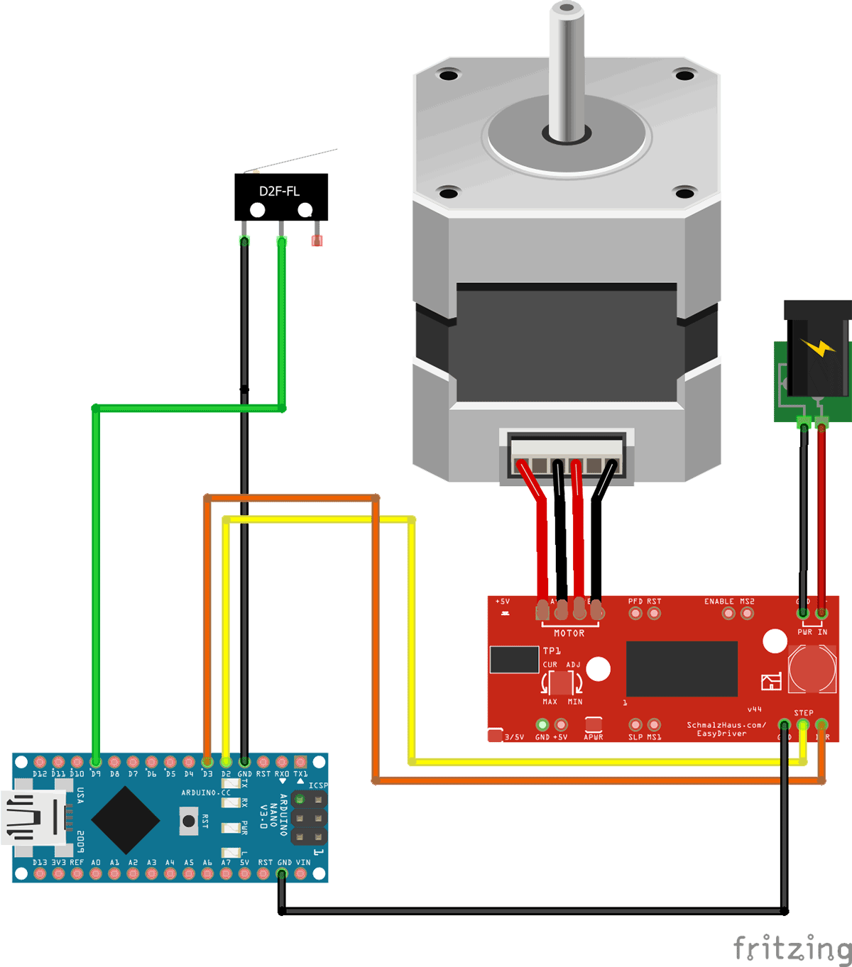 Stepper driven by Arduino A4988 - SemiEngineering