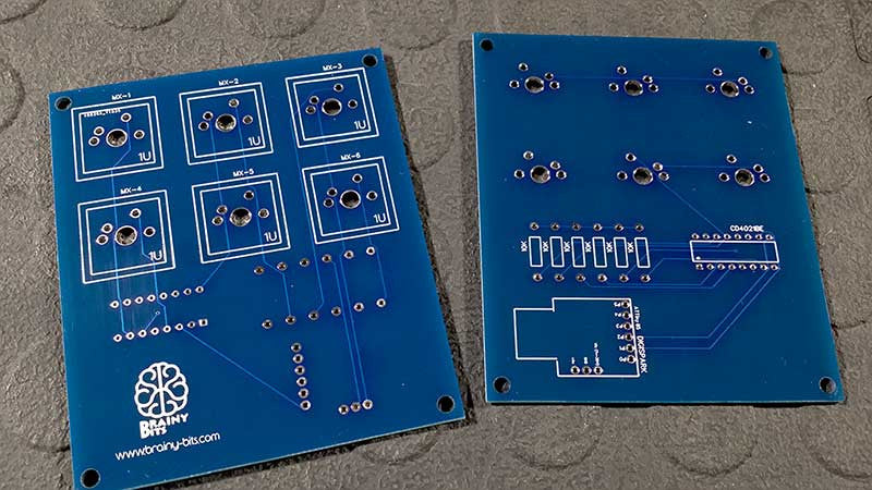 EasyEDA PCB completed