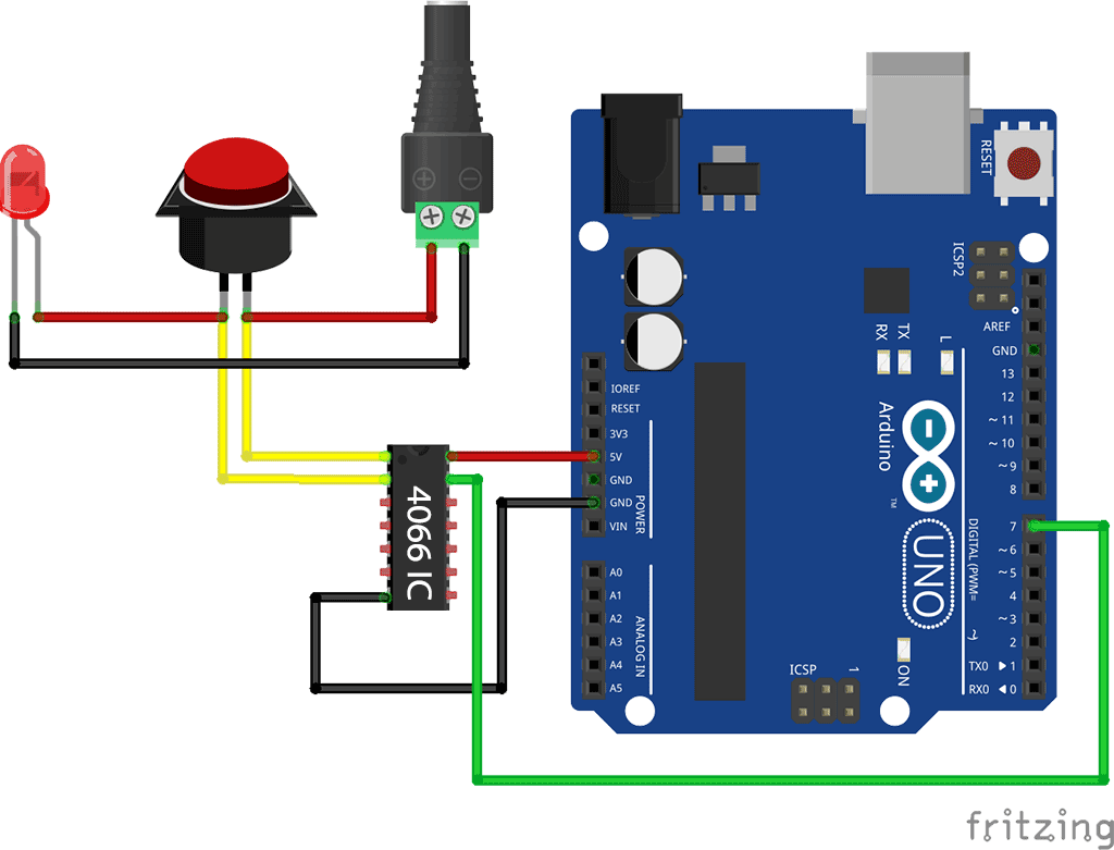 Arduino simulate pushing buttons