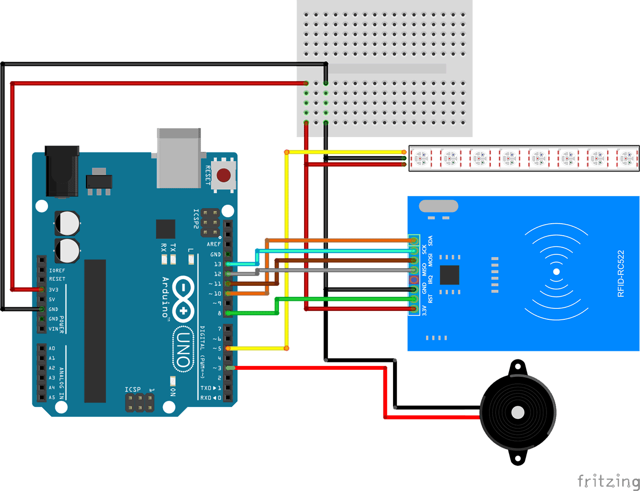 Arduino RFID Reader RC522