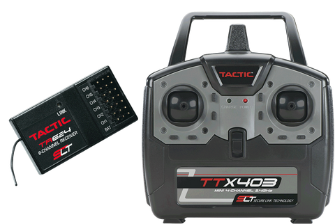 TACTIC TTX403 & TR624 RC Transmitter/Receiver