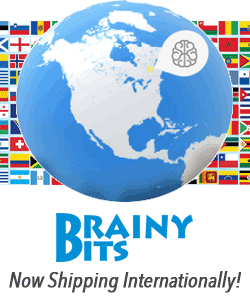 Brainy-Bits ships your order Fast!