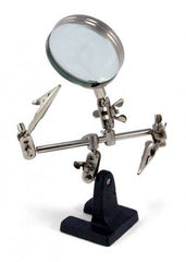 Third Hand with magnifying glass