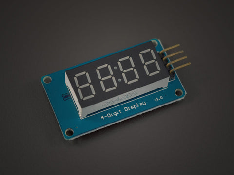 4 digits 7 segment Display