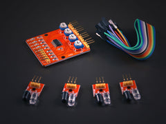 4 channels Obstacle avoidance IR Sensor