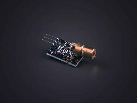 Plug-in 5mW Red Laser module - Low power consumption
