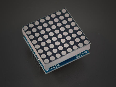 MAX7219 LED Matrix chainable Module