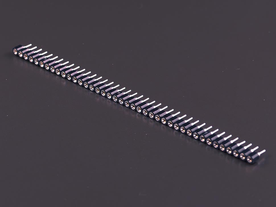 Break Away IC Headers 40-pin strip straight female