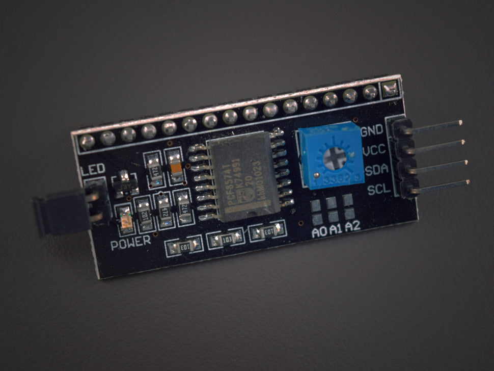 i2c LCD backpack