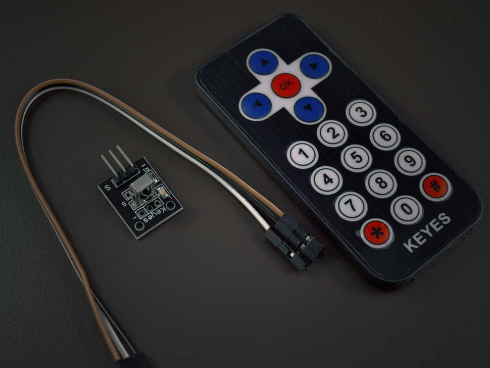 IR Remote control with sensor module