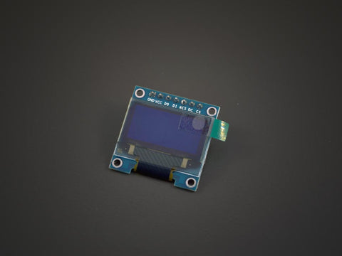 ".96"" OLED display module - Blue"