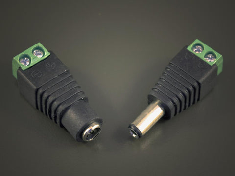 DC Connector Adapter Plugs 2.1x5.5mm