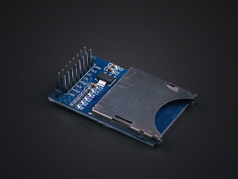 Full size SD card module