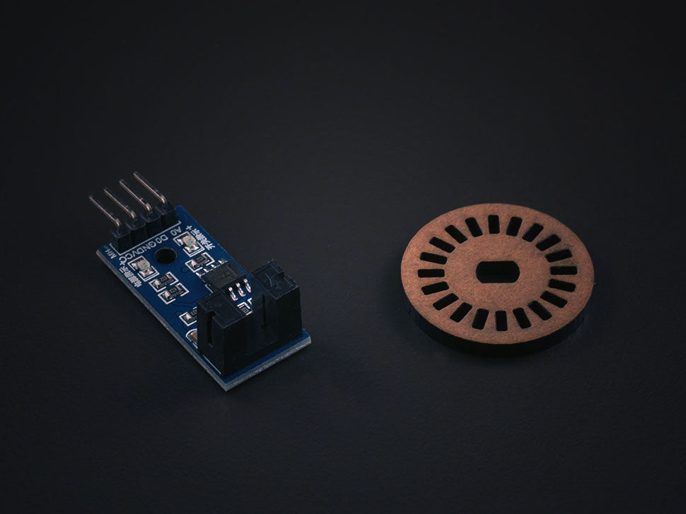 Infrared Speed sensor module with encoder Disc