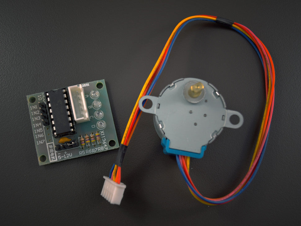 5V Stepper Motor with Driver Board