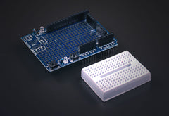 Arduino UNO Development Shield w/breadboard