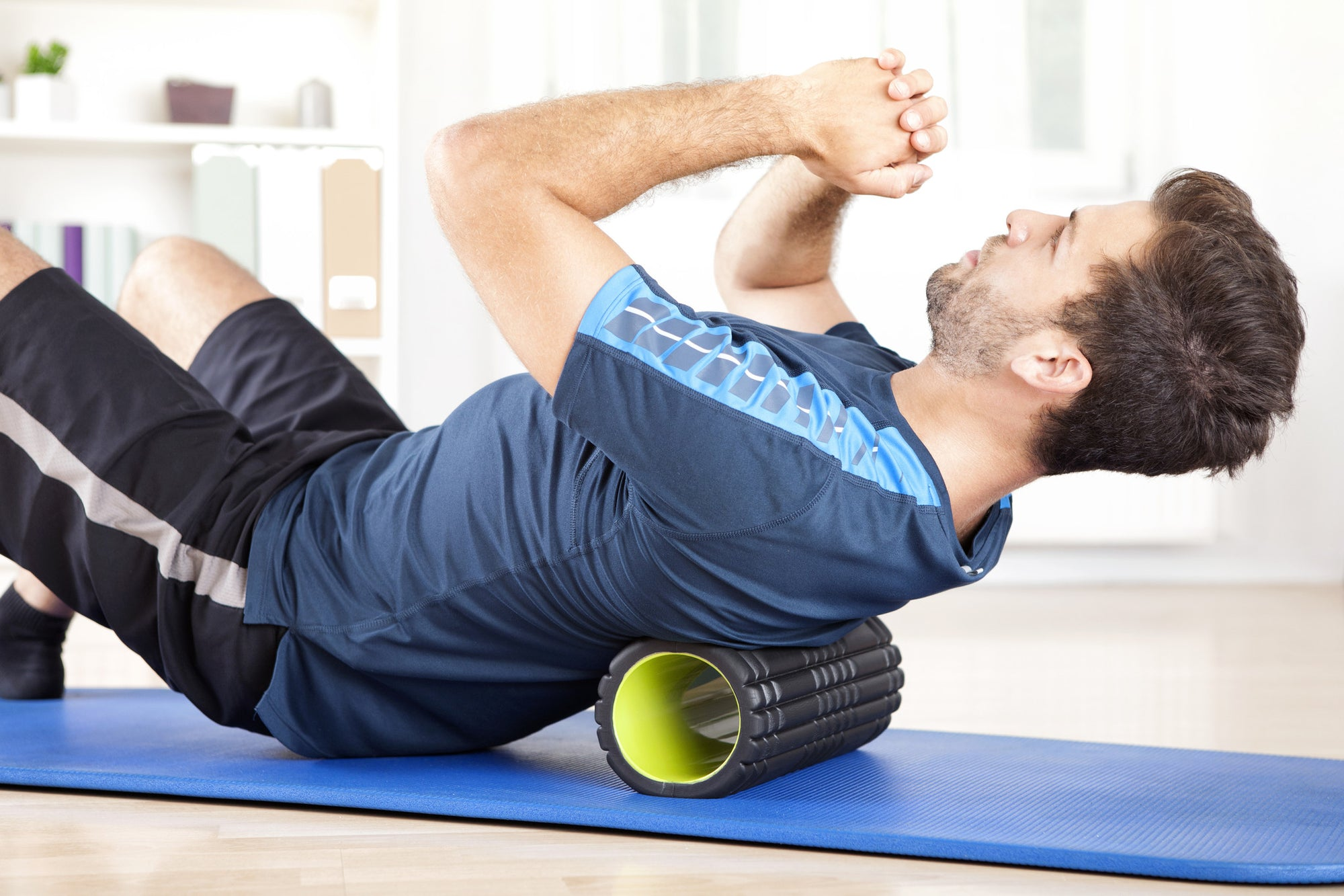 Foam Rolling your Back to Alleviate Back Pain and Improve Posture