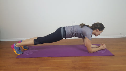 Plank Hold The Natural Posture
