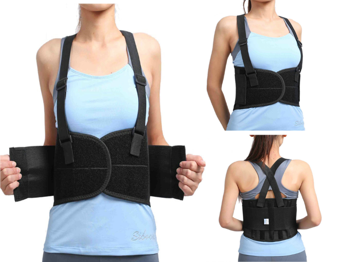 Suspenders Lumbar Support Belt - The Natural Posture