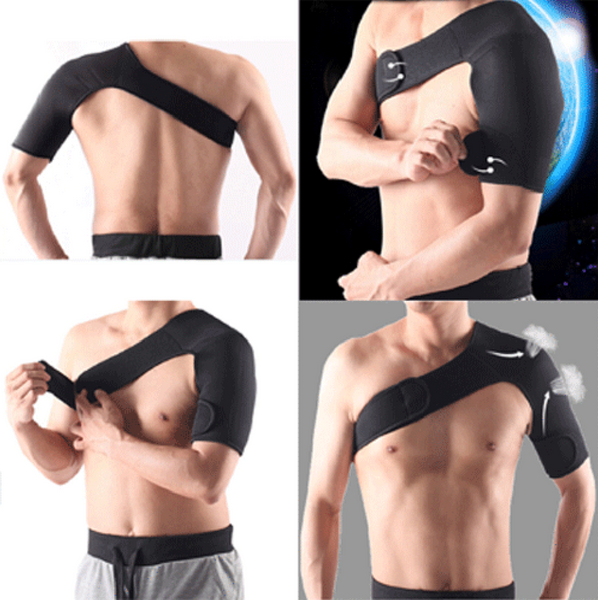 Shoulder Brace Strap Compression Wrap - The Natural Posture