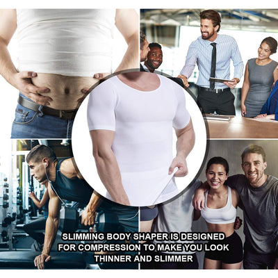 Slimming Body Shaper T-Shirt - The Natural Posture