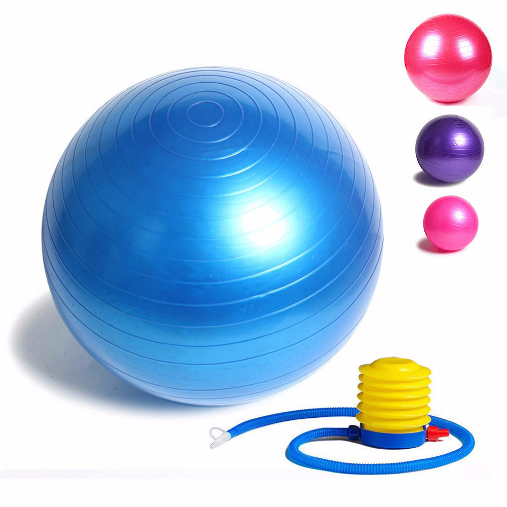 "Fitness Exercise Ball 25"" With Pump - The Natural Posture"