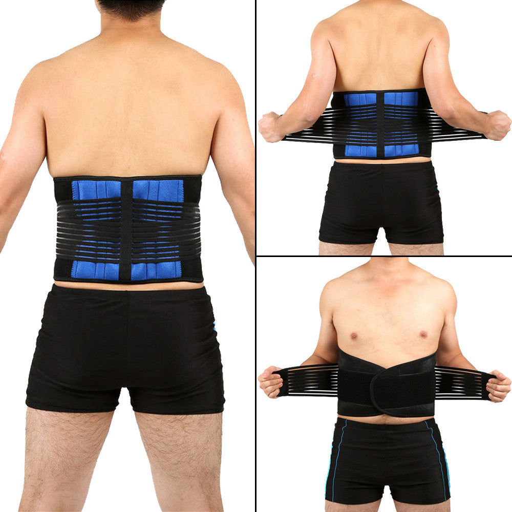 Double Pull Adjustable Lumbar Support Belt - The Natural Posture