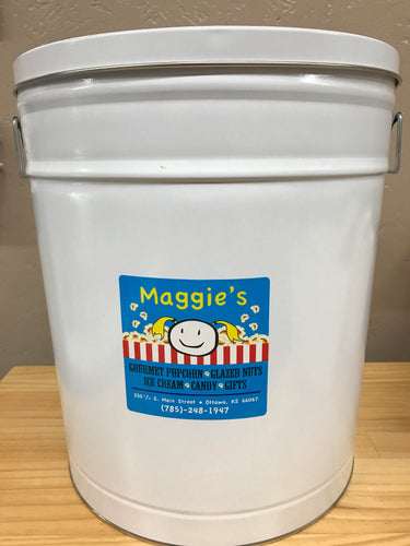 6 1/2 Gallon Tin