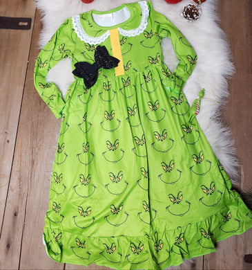 IN STOCK! Grinch Nightgown
