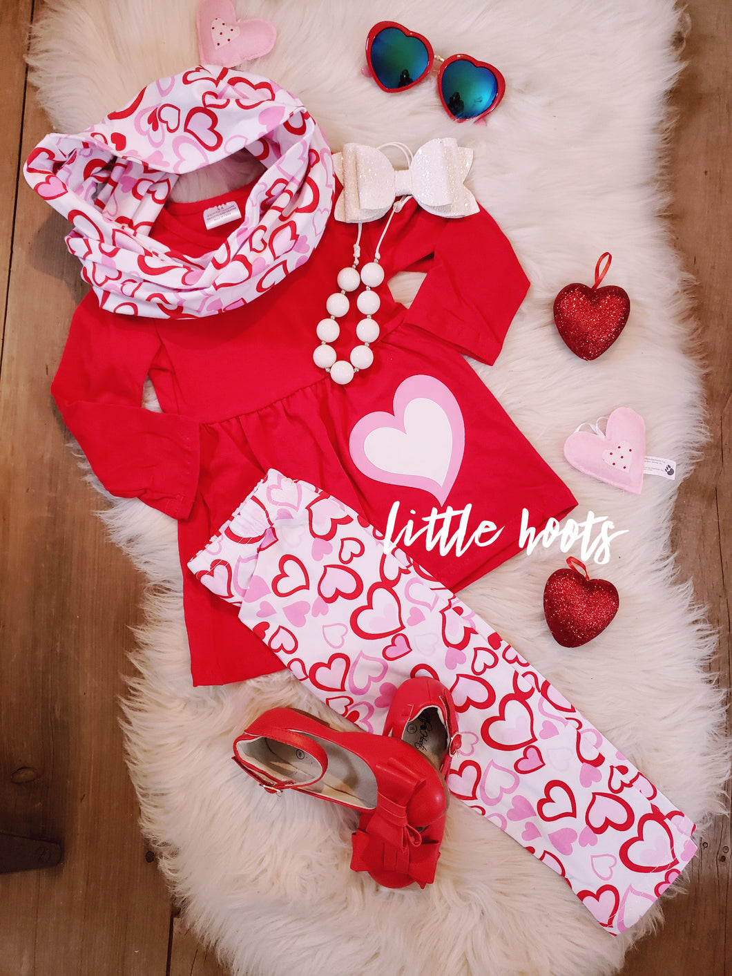 IN STOCK! 3 Piece Heart Set