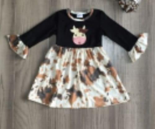Preorder! Fall Cow Dress
