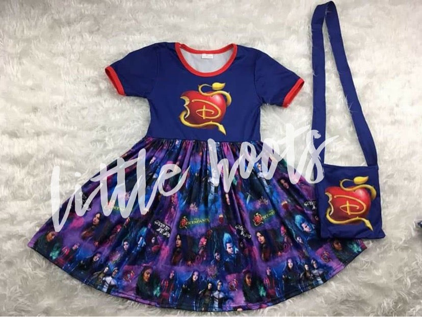 IN STOCK! Descendants Dress and Bag
