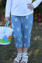 sale! IN STOCK! Unisex Denim Bunny Capri Pants
