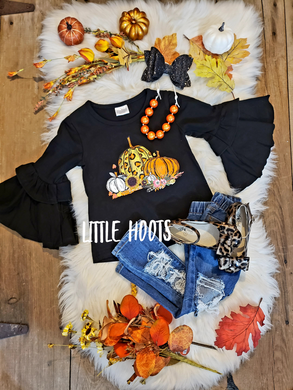 SALE! IN STOCK! Super Flare Pumpkin Top