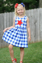 sale! IN STOCK! Plaid Star Dress